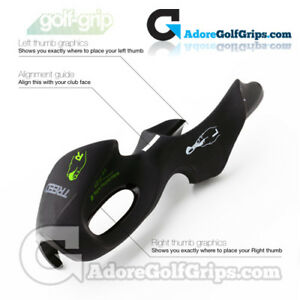 Golf-Grip Training Aid - Fits Over Your Existing Golf Grips - Remove & Re-Use
