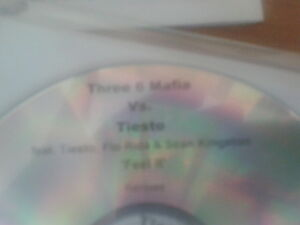 Three 6 Mafia vs Tiesto - Feel It cdr 2009 Promo MINT Flo Rida Sean Kingston