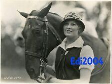 THELMA TODD Vintage Original 1925 Photo Dbl-Wgt RARE Early Fashion Model Career