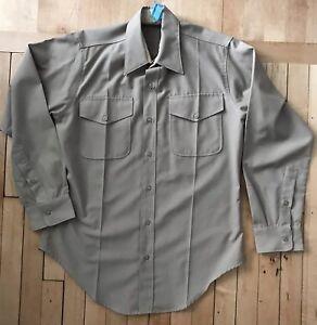 Named USMC Creighton Officers Khaki Color Long Sleeve Shirt