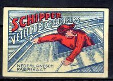 MATCHBOX LABELS-HOLLAND  Schipper matches