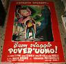 manifesto 4F originale BUON VIAGGIO POVER'UOMO Umberto Spadaro Vera Carmi 1951