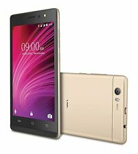 Lava A97 IPS  (Gold Black) 8GB 4G VoLTE Jio Support Android v6.0 Front LED FLASH