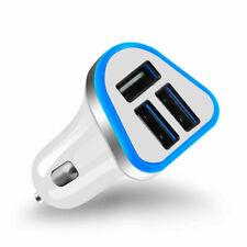 5.1Amp Triple USB Car Charger 3 Ports Universal Charging For Samsung iPhone HTC