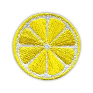 Slice of Lemon Embroidered PATCH/BADGE