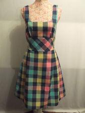 Square Neck Cotton Casual Dresses Midi