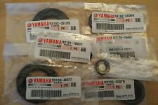 Genuine Yamaha RD250 RD400 Engine Oil Seal Set Early models