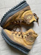 Adidas Originals Trekking Boots Sz 42 2/3 UK 8.5 Brown Leather SAMPLE RARE