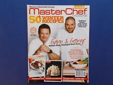 ## MASTERCHEF MAGAZINE AUSTRALIA ISSUE #13 - GARY & GEORGE
