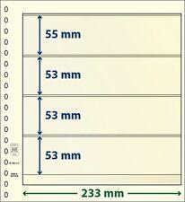 Lindner blank T-foglie con quattro Borse im Da 10 Pack Arte no. 802 412