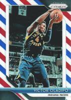 2018-19 Panini Prizm Basketball Red White Blue #134 Victor Oladipo