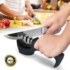 New listing Global Knife Sharpener Professional System Ceramic Tungsten Diamond 3 Stage Tool