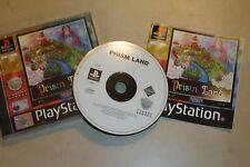 PS1 PLAYSTATION 1 PSone Game Prism Land par MIDAS + boîte instructions complet PAL
