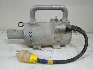 Denver Concrete Vibrator Model EM 1.5hp AC/DC 12000 rpm MOTOR ONLY