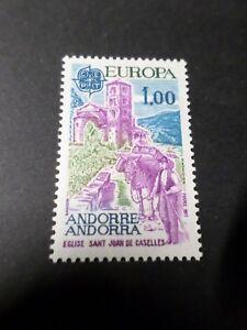 ANDORRE FRANCAIS 1977, timbre 261, EUROPA neuf** VF MNH STAMP