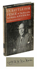 In Battle for Peace ~ SIGNED by W. E. B. Du BOIS ~ First Edition 1st WEB DUBOIS