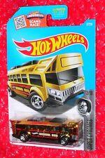 2016 Hot Wheels Super Chromes   HOT WHEELS HIGH  #37  DHW76-D9B0N  School Bus