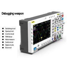 FNIRSI 1014D 7-Zoll-Digitaloszilloskop TFT-LCD-Bildschirm 2 Kanäle 1 GB Speicher