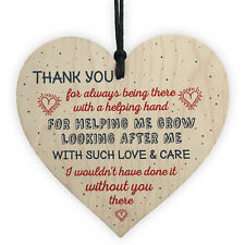 Thank You Teacher Leaving Gifts For Her Nursery Heart Plaques Childminder Friend