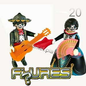 PLAYMOBIL 70148 70149 CATRINA & COCO   Mexican SERIE 20 NEW SEALED  COLLECTORS
