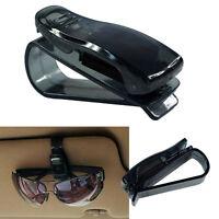 Car Vehicle Accessory Sunglasses Clip Eye Glasses Card Pen Holder Sun Visor WFAU