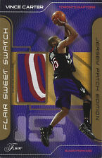 "2003-04 Vince Carter Sweet Swatch JUMBO GAME WORN JERSEY PATCH LETTER ""O"" #3/30"