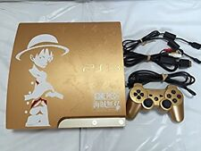 USED Playstation 3 PS3 one piece GOLD EDITION HDD 320GB CEJH-10021 only cons F/S