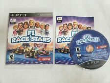 F1 Race Stars COMPLETE PS3 Game *TESTED WORKS* Free Fast Shipping