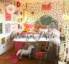 Dalmatian 320x Wall Stickers Polka Dot Wall Decals Hand Drawn Polka Dot Spots