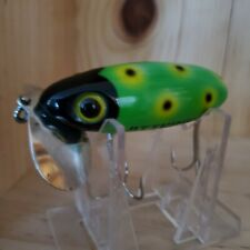 VINTAGE FRED ARBOGAST JITTERBUG BASS FISHING LURE IN CUSTOM COLORS.