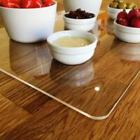 Rectangle Serving Mats, Centerpiece / Table Protectors in Clear Acrylic