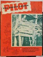 Vintage 1950 Pilot The Safety Legion 32 pg Booklet - Vol. 10 No. 3 - $0.25, FN
