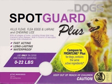 2 Doses Generic Frontline Plus for Small Dogs 0-22 lbs Flea Tick 2 Month Supply