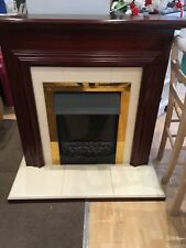 Ashleigh plus Electric Fire and Surround