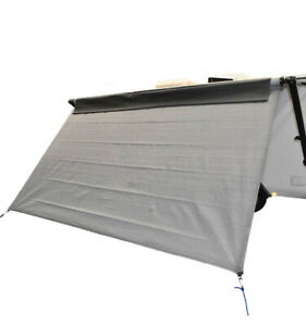Coast Travelite Front Sunscreen Fits 18ft Rollout Awning Sun Shade Wall Screen