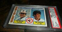 RARE 1984 TOPPS TIFFANY #426 CAL RIPKEN JR BALTIMORE ORIOLES HOF PSA 10 Gem Mint