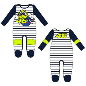 VR46 BABY GROW SUIT OVERALL SUN & MOON Official Valentino Rossi Merchandise