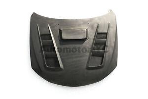 FIBER GLASS d-Style Hood Bonnet For 08-14 Subaru Impreza GRB GVB WRX/STI