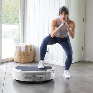 Power Plate Move Harmonic Vibration Platform, Home Training, Gym Exercise SILVER