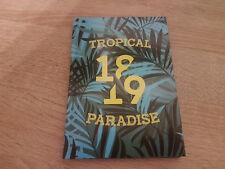 Buch-Kalender Kalenderbuch Buchkalender Schülerkalender 2018/2019 Tropical