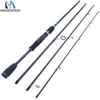 "6'9"" Spinning Rod Graphite Fishing Rod 4Pieces saltwater Rod with Rod Bag"