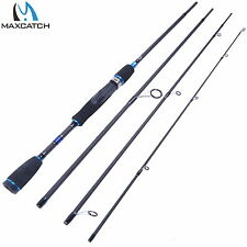 """6'9"""" Spinning Rod Graphite Fishing Rod 4Pieces saltwater Rod"""