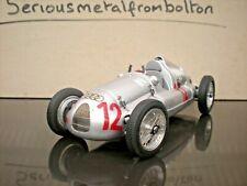 CMC M 089 Auto union Type D 1938/39 GP France 1939 #12 Silver 1:18