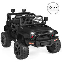 BCP 12V Kids Ride-On Truck Car w/ Parent Remote Control, Spring Suspension