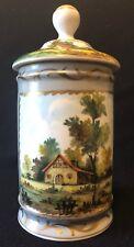 Manufacture impériale Saint-Pétersbourg porcelaine Pot couvert vers 1860 Russie