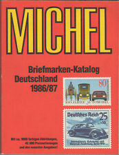 Michel Briefmarken Katalog Deutschland 1986/1987