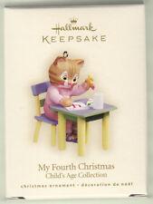 2007 Hallmark Keepsake Ornament  MY FOURTH CHRISTMAS  ****UNDATED****