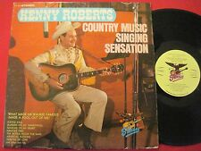 KENNY ROBERTS COUNTRY MUSIC SINGING SENSATION - STARDAY 434 - AUTOGRAPHED LP
