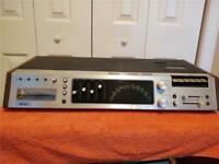 Vintage & Very Rare Miida Model 2082 8-Track, Cassette & FM-AM Stereo Receiver