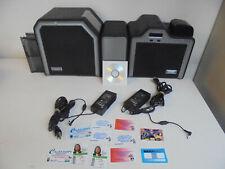 Fargo HDP5000 Duplex Card Printer Dual Lamination-Mag Encoder,ID Card Software